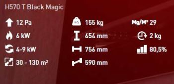 H 570 T Black Magic details